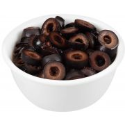 Pearls Fancy Sliced Ripe Olives, 55 Ounce -- 6 per case.