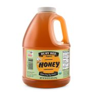 Golden Heritage Foods Busy Bee Organic Honey, 80 Ounce -- 6 per case.