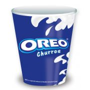 Oreo Cup and Lid Kit, 0.02 Ounce -- 100 per case.