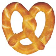 J and J Snack Traditional Sweet Doughlicious Soft Pretzel, 6 Ounce -- 24 per case.