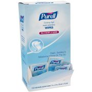 Purell Cottony Soft Hand Sanitizing Wipes - Display -- 12 per case