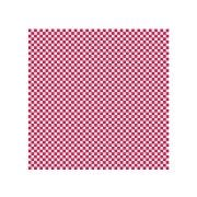 Hoffmaster Waxed Red and White Check Basket Liner/Sandwich Wrap, 12 x 12 inch -- 2000 per case.