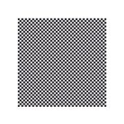 Hoffmaster Waxed Black and White Check Basket Liner/Sandwich Wrap, 12 x 12 inch -- 2000 per case.