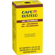 Bustelo 100 Percent Colombian Concentrated Liquid Coffee, 2 Liter -- 2 per case.