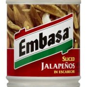 Embasa  Sliced Jalapeno Pepper With Escabeche,  7 Ounce -- 12 Case