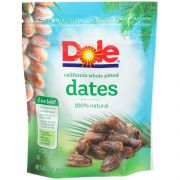 Dole Pitted Dates, 8 Ounce -- 12 per case.