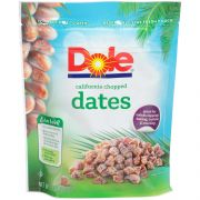Dole Chopped Dates, 8 Ounce -- 12 per case.