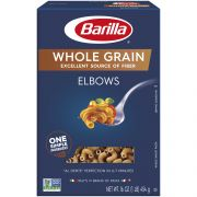 Barilla Whole Grain Elbows, 16 Ounce -- 8 per case.