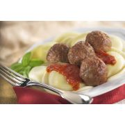 Rosina Food Italian Village Style Chicken and Beef Meatball, 0.5 Ounce -- 2 per case.