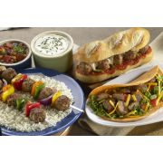 Rosina Food Italian Village Style Chicken and Beef Meatball, 1 Ounce -- 2 per case.