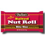 Pearson Bite Size Salted Nut Roll Candy, 0.5 Ounce -- 800 per case.