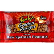 Gurleys Foods Raw Spanish Peanuts, 8 Ounce -- 12 per case.