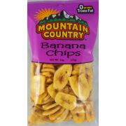Mountain Country Banana Chips, 6 Ounce -- 6 per case.