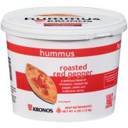Krono Roasted Red Bell Pepper Hummus, 4 Pound -- 2 per case.