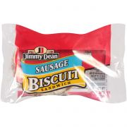 Jimmy Dean Jumbo Sausage Biscuit, 3.5 Ounce -- 12 per case.