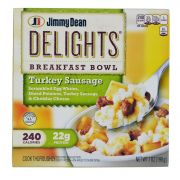 Jimmy Dean Turkey Sausage - Breakfast Bowl, 7 Ounce -- 8 per case.