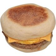Jimmy Dean Muffin and Sausage, Egg with Cheese Sandwich, 5 Ounce -- 12 per case.