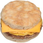 Jimmy Dean Egg and Cheese Jumbo Sausage Biscuit, 4.9 Ounce -- 12 per case.