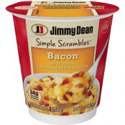Jimmy Dean Simple Scrambles Bacon, 5.35 Ounce -- 6 per case.