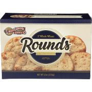 Valley Lahvosh Cracked Wheat 3 inch Round Cracker Bread, 4.5 Ounce -- 12 per case.