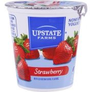 Upstate Niagara Coop Strawberry Rich and Creamy Yogurt, 8 Ounce -- 12 per case.