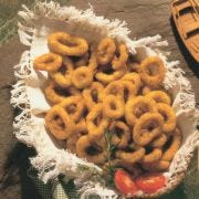 Sea Watch Fresh Breaded Italian Calamari Rings, 5 Pound -- 2 per case.