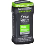 Dove Men Plus Care Extra Fresh Invisible Solid Antiperspirant and Deodorant, 5.4 Ounce -- 6 per case.