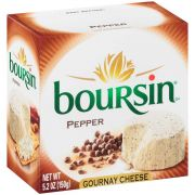 Boursin Pepper Cheese Spreadable, 5.2 Ounce -- 6 per case