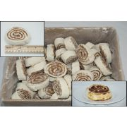 General Mills Pillsbury Supreme Freezer-to-Oven Cinnamon Twirl, 5 Ounce -- 100 per case.