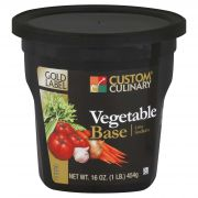 Custom Culinary Gold Label Vegetable Base, 1 Pound -- 6 per case.
