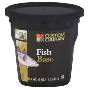 Custom Culinary Gold Label Fish Base, 1 Pound -- 6 per case.