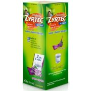 Zyrtec Dye Free Sugar Free Allergy Syrup, 3.4 Fluid Ounce -- 12 per case.