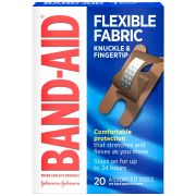 Johnson and Johnson Band-Aid Flexible Fabric Knuckle and Fingertip 20s Bandage -- 24 per case