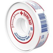 Johnson and Johnson Band-Aid Waterproof Tape, 10 Yard -- 36 per case.