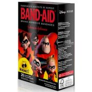 Band Aid Incredibles Two Assorted Size Adhesive Bandage, 20 count per pack -- 24 per case.