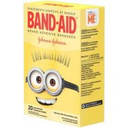 Band Aid Minions Assorted Size Adhesive Bandage, 20 count per pack -- 24 per case.