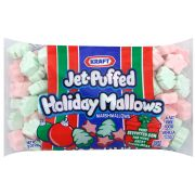 Jet-Puffed Holiday Shapes Marshmallow, 8 Ounce -- 16 per case