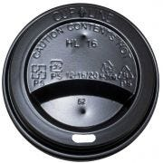 Pak 2 Go Black Hot and Cool 8 Ounce Paper Cup Dome Lid Only -- 1000 per case
