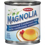 Magnolia Brand 14 Ounce Regular Bilingual Sweetened Condensed Milk -- 24 per case.