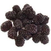 Commodity Fruit Whole Blackberry, 5 Pound -- 2 per case.