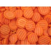 Commodity Vegetables Medium Crinkle Cut Carrot, 2 Pound -- 12 per case.