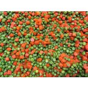 Commodity Vegetables Diced Pea and Carrot, 20 Pound -- 1 each.