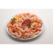 Frozen Seafood 21/25 Count Cooked Tail On Shrimp, 2 Pound -- 5 per case.