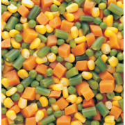 Commodity Canned Fruit and Vegetables Mixed Vegetables, Number 10 Can -- 6 per case
