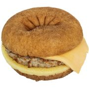 Day N Night Bites Sausage Egg Cheese Donut, 4.4 Ounce -- 12 per case.