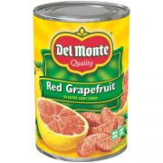 Del Monte Red Grapefruit Sections in Extra Light Syrup, 15 Ounce Can -- 12 per case.