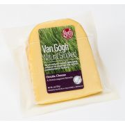 Roth Van Gogh Natural Smoked Deli Cuts Gouda Cheese, 6 Ounce -- 12 per case.