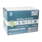 HandGards ValuGards Nitrile White Extra Large Disposable Glove -- 1000 per case.