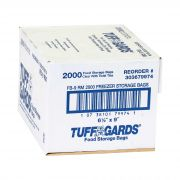 Bag (TuffGards® Food Storage/Freezer Bags) Clear 6.5X9, 2000 Count --- 1 Roll