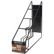 Monin 4 Bottle Wire Rack Display -- 1 each